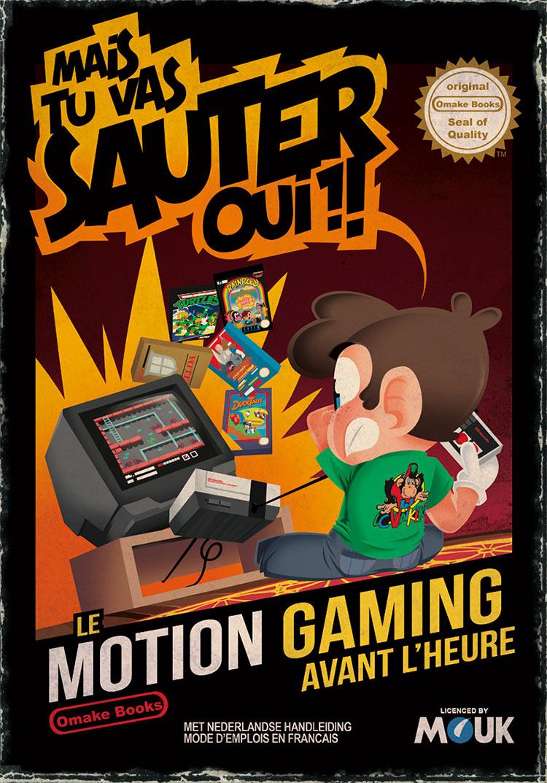 Omake Books-illustration-souvenir-memories-retro gaming-nes-nintendo-nintendo entertainment System-tortues ninja-ninja turtles