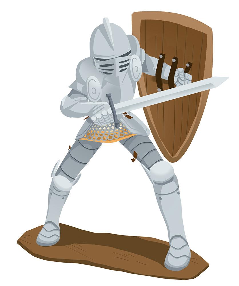 Pass Education-famille Pass temps-leçon-histoire-historique-chevalier-armure