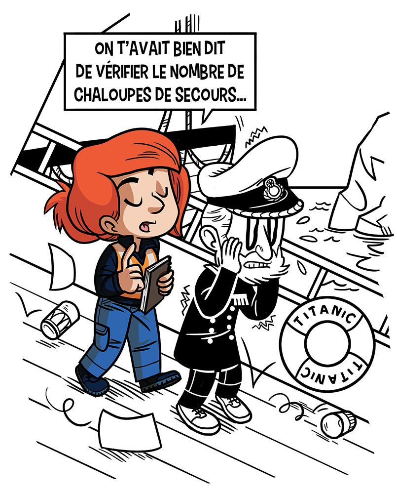 Enedis-mascotte-sécurité-personnage-illustration-illustrateur-brest-brestois