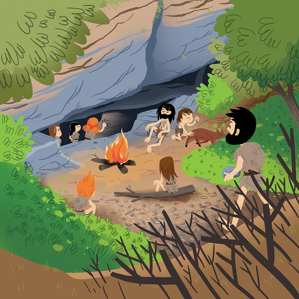 Pass Education-famille Pass temps-leçon-histoire-historique-préhistoire