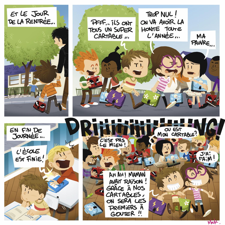 Minig-Ville de Vannes-BD-bande dessinée-magazine-jeunesse-illustration