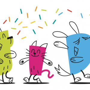 diana petfood-20 ans-illustration-chiens-chats-chien-chat