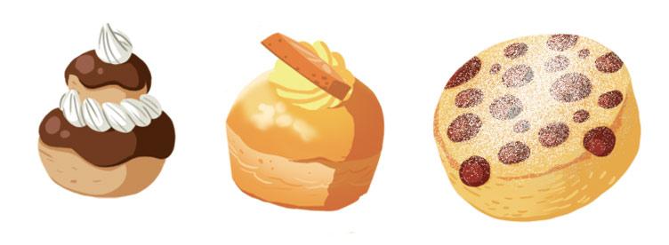 rustikid, Super cuistot, Gaëtan Le Cose, Mouk, édition jeunesse, découverte, métier, pâtisserie, gâteaux, gateaux