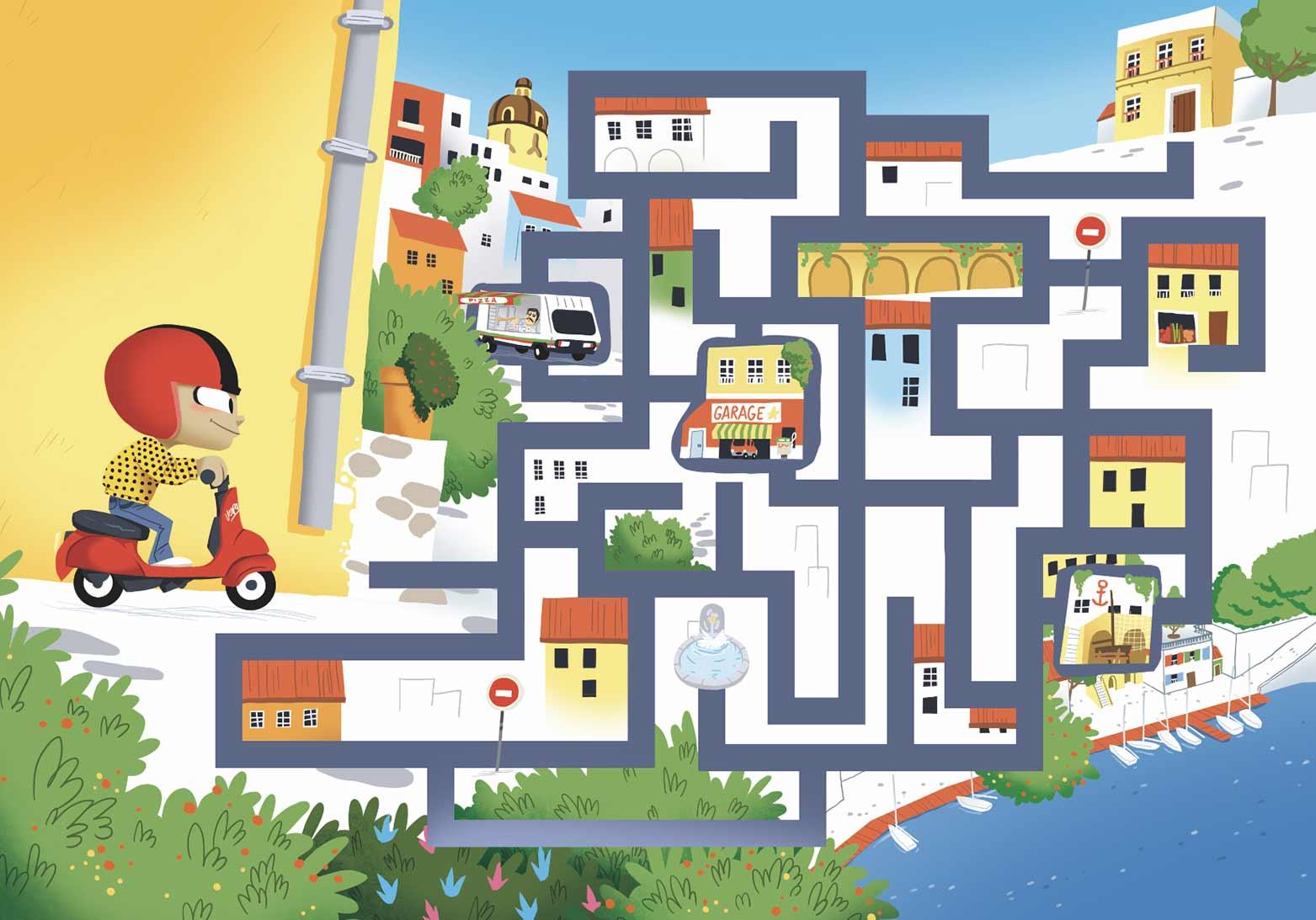 Auzou-italie-naples-labyrinthe-jeu-jeunesse-édition-édition jeunesse