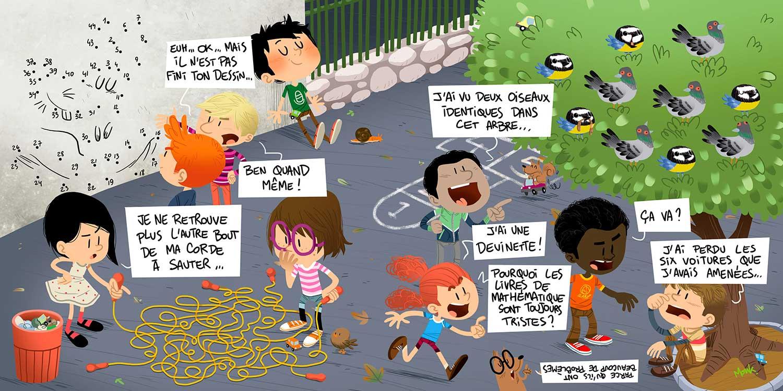 Minig-Ville de Vannes-jeux-bande dessinée-magazine-jeunesse-illustration